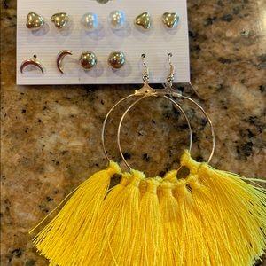 Jewelry - 🌟6 pairs Fashion Earrings